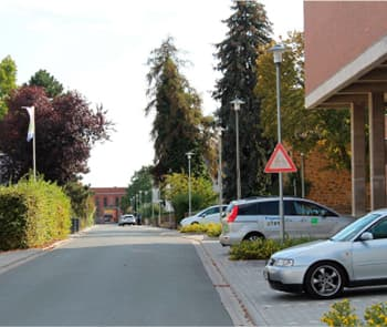 "Pearls of light for the Pearl of Wetterau: ILEC ""BL GROUP"" LLC illuminated the streets of Butzbach"